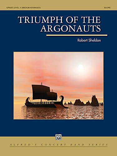 シェルドン: アルゴナウタイの凱旋/アルフレッド社/吹奏楽 スコアとパート譜セット