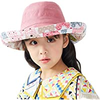 Camilla Baby Sun Hat for Womens,Girls Sun Hats Wide Brim Hats Bucket Hats Summer Fisherman Hat Beach Hat UPF50+ Protection Outdoor Caps