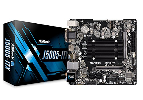 ASRock Intel Quad-Core Processor J5005チップセット搭載 Mini ITXマザーボード J5005-ITX