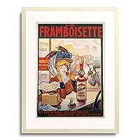 Tamagno, Francisco 「La Framboisette. 1900」 額装アート作品