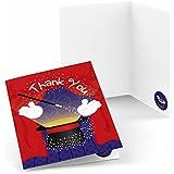 [ビッグドット]Big Dot of Happiness Magic Birthday Party Thank You Cards BB018576 [並行輸入品]