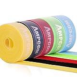AMPCOM 結束バンドマジックバンド 結束テープ 自由にカット 線整理幅2cm 長さ2m 5色 5枚セット ケーブル/コード等収納 オフィス用/お部屋用 (結束バンド)