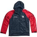 アディダス ジャケット Troy Lee Designs Adidas Techメンズアウトドアジャケット–Navy / Red M 6528-2309-FBA