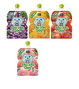 ミニッツメイド ぷるんぷるんQoo(クー) 4種類各3袋 1箱:12袋入り