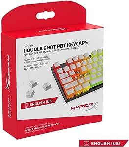 キングストン HyperX Double Shot PBT Keycapsフル104キーセット Pudding HyperXメカニカルキーボード対応 HXS-KBKC4