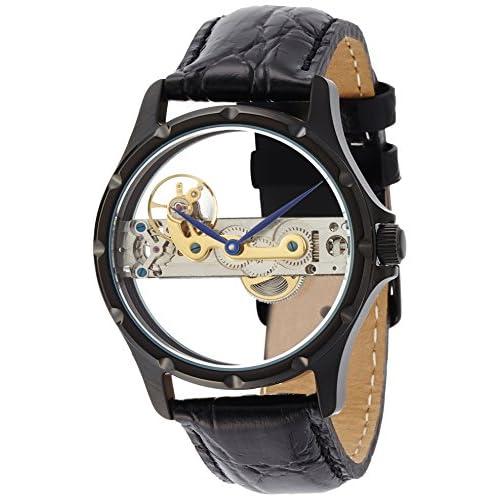 [アルカフトゥーラ]ARCA FUTURA 腕時計 手巻き S13343BBK メンズ