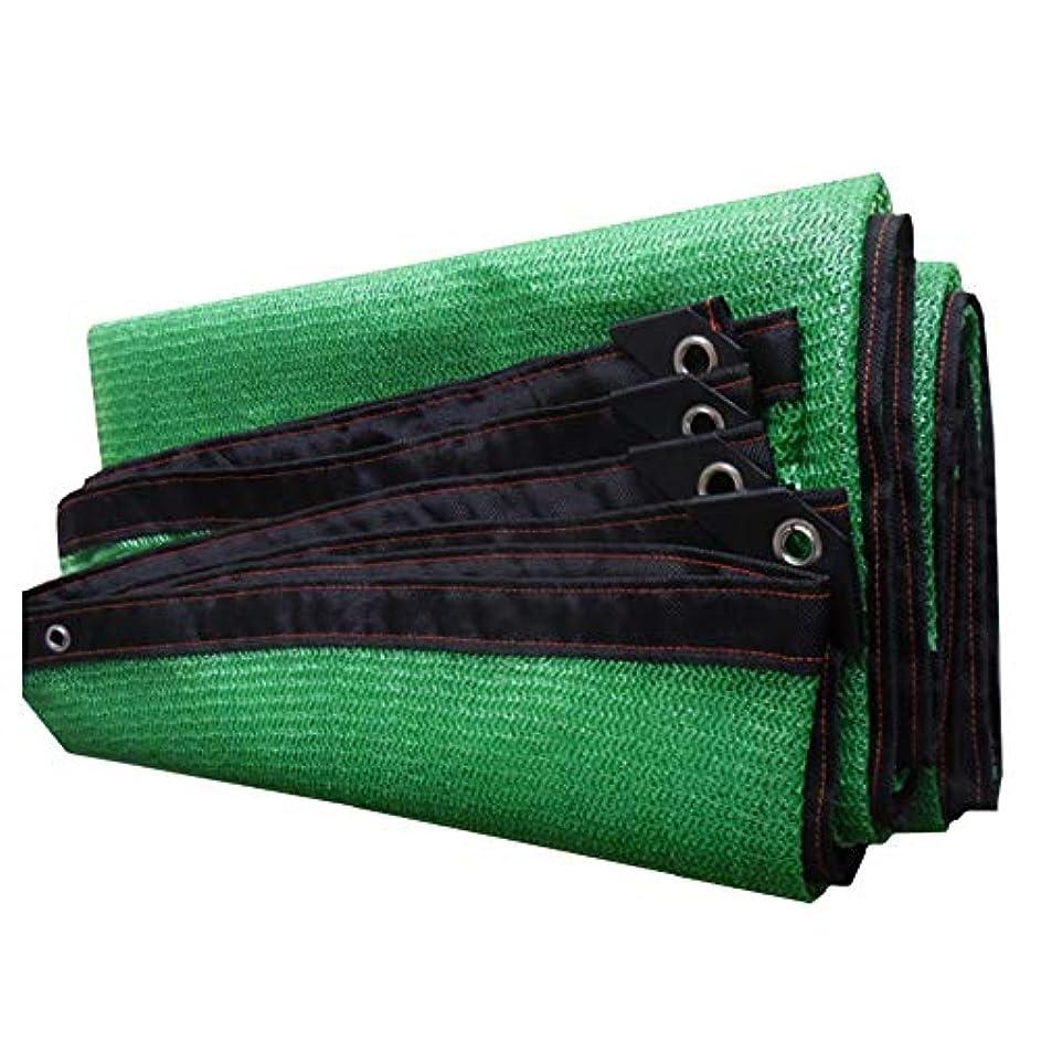 農奴無数の床CHAOXIANG オーニング シェード遮光ネッ 日焼け止め 高温耐性 サンバイザー 通気性 庭園 日よけ布 22サイズ、 カスタマイズ可能 (色 : 緑, サイズ さいず : 6x8m)