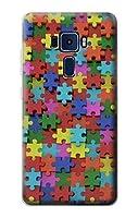 JP0816Z3D パズル Puzzle Asus Zenfone 3 Deluxe ケース