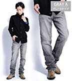 2カラー デニムパンツ メンズ ジーンズ ウォッシュデニム ストレート ZIPポケット 605565 ベストマート画像⑧