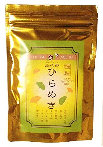 60g 2g×30パック 宇治ほうじ茶 なた豆茶 桑の葉茶 ごぼう茶 サラシア茶 イチョウ茶 菊芋茶の混合茶