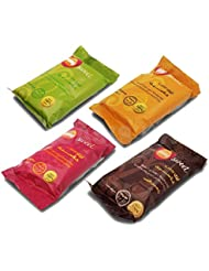 4 X 50 gm Sweet Packets Sugaring Sugar Wax Hair Removal 100% Natural All Essence