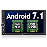 Android 7.1 ナビ 2din 7インチ カーオーディオ RAM 2GB ROM 32GB 1080P GPS Bluetooth Wifi OBD対応 進級版 18ヶ月保証
