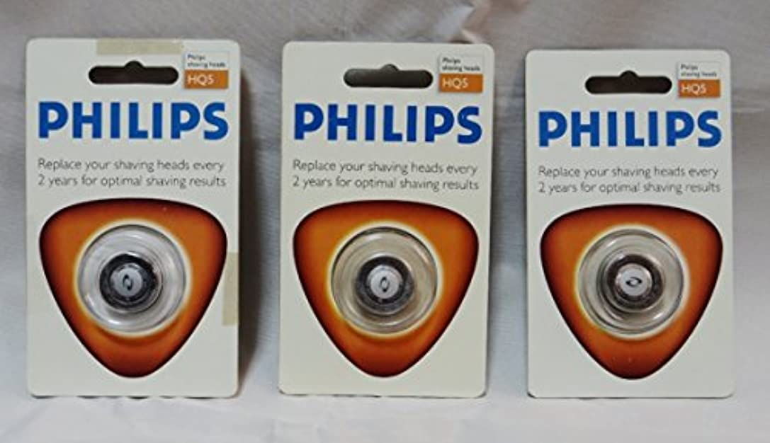 草ペインギリック描写3枚セット フィリップス PHILIPS シェーバー替刃 HQ5