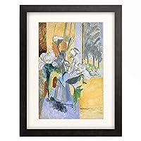 アンリ・マティス Henri Matisse 「Blumenstrauss auf der Veranda. 1913.」 額装アート作品