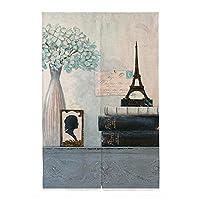 エレガントな花リネンの戸口カーテン/タペストリー風のカーテンデコレーションされたカーテン、#11