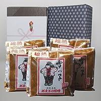 【お取り寄せグルメ】雪っ子 超熟味噌(1kg×5袋セット)/辛口味噌を長期間熟成させた昔ながらの味