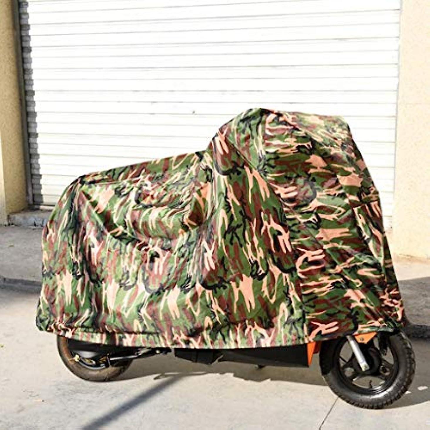 行進解決するアルファベット順自転車は自転車レインカバーアウトドア用保護バイクプロテクター付き外ストレージ用防水自転車カバーをカバー (Color : Green)