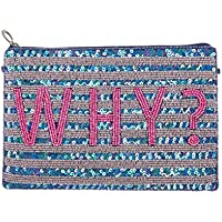 From St Xavier Women's Why Clutch, Multi Colour, One Size