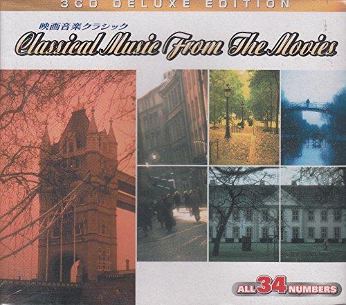 映画音楽クラシック~3枚組BOX アマデウス、地獄の黙示録、2001年宇宙の旅、愛と哀しみのボレロ 他 3CDG106