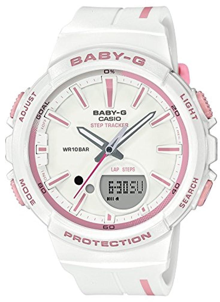 ラショナルバンジージャンプマラソン[カシオ] 腕時計 ベビージー フォーランニング BGS-100RT-7AJF レディース ホワイト
