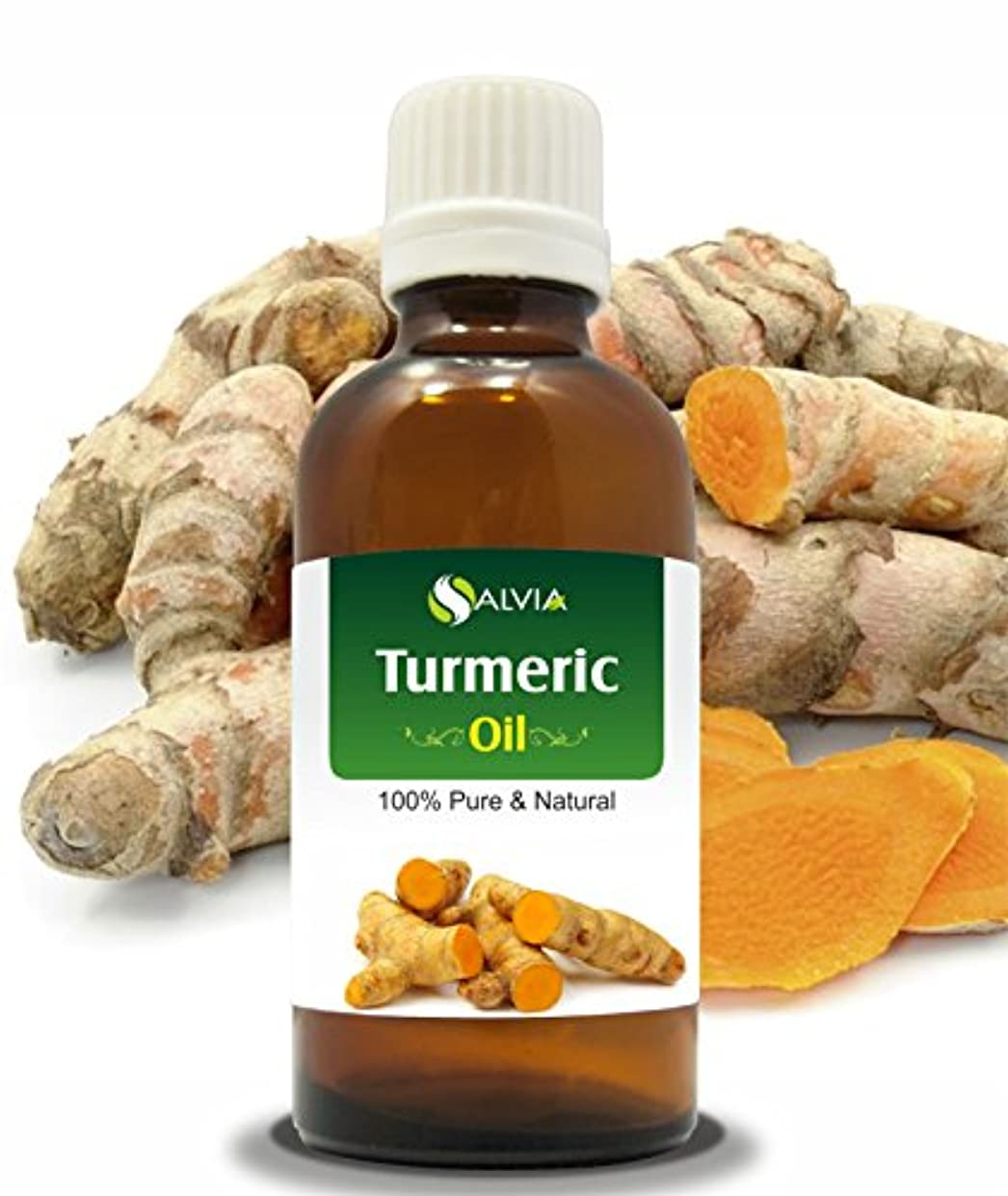 銛同化類似性TURMERIC OIL (CURCUMA LONGA) 100% NATURAL PURE ESSENTIAL OIL 50ML