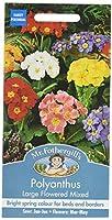 【輸入種子】 Mr.Fothergill's Seeds Polyanthus LARGE FLOWERED MIXED ポリアンサス・ラージ・フラワー・ミックス ミスター・フォザーギルズシー