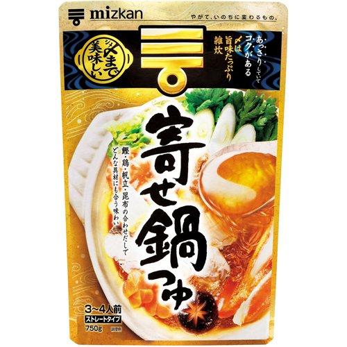 ミツカン シメまで美味しい 寄せ鍋つゆストレート 750g フード 調味料・油 鍋の素 [並行輸入品]