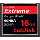 SanDisk Extreme CF コンパクトフラッシュ 16GB 60MB/Sec. SDCFX-016G-J61