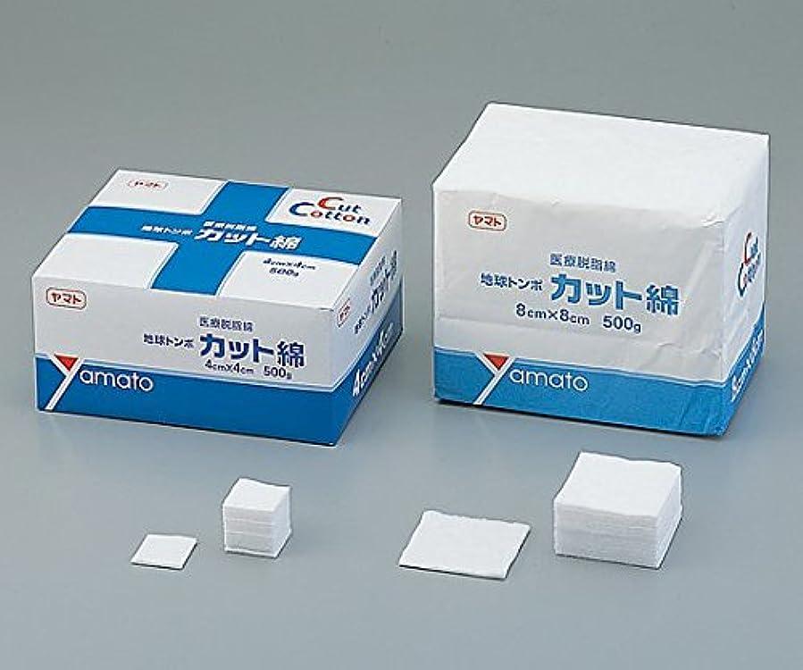 フロー外出許される大和工場 地球トンボ 医療用カット綿 4cm×4cm 500g