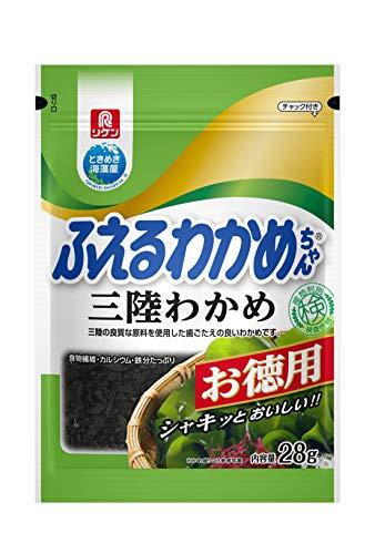 リケン ふえるわかめちゃん三陸お徳用 28g×4袋