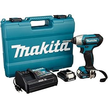 マキタ インパクトドライバTD110(10.8V)青 トルク110Nm  1.5Ahバッテリ・充電器付 TD110DSHX