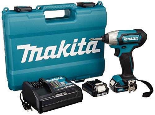 マキタ 充電式インパクトドライバ 1.5Ah (バッテリー・充電器・ケース付) TD110DSHX