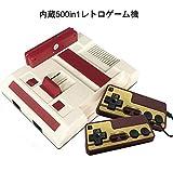 クラシックミニ ファミリーコンピュータ-プレイコンピューター レトロ FC互換ゲーム機 内蔵ゲーム500種