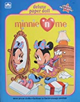 Golden Minnie ' n Me Deluxe Paper人形BOOK Uncut W MinnieマウスFashions to finish & More 。( 1990年)
