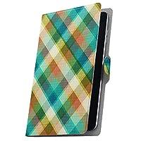 タブレット 手帳型 タブレットケース タブレットカバー カバー レザー ケース 手帳タイプ フリップ ダイアリー 二つ折り 革 チェック 模様 006555 Gecoo Tablet S1 Gecoo ギーク A1G ギーク s1tabletgc s1tabletgc-006555-tb