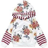 (プタス)Putars ベビー服 子供服 パーカー 女の子 花柄 薔薇柄 可愛い 秋 冬 旅行 記念日 プレゼント 6-18ヶ月