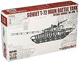 モデルコレクト 1/72 ソ連軍 T-72 主力戦車 1970年~1990年代 「N in 1」キット プラモデル MODUA72194