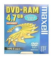 4.7GB DVD-RAM カートリッジタイプ マクセル DRM47R.1P