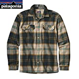 patagonia(パタゴニア) メンズ・ロングスリーブ・フィヨルド・フランネル・シャツ(アジア・フィット) Ms L/S Fjord Flannel Shirt - AF 54130 SPEC S