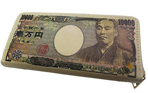 DH.SR おもしろ 財布 セレクション 金運 アップ お札 財布 1万円 日本 福沢諭吉 (マルチカラー)