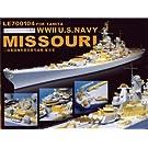 1/700 WWII 米海軍戦艦ミズーリ用ディティールアップセット