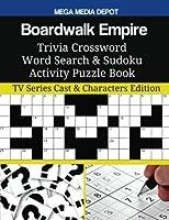 Boardwalk Empire Trivia Crossword Word Search & Sudoku Activity Puzzle Book