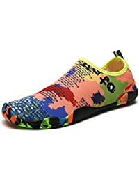 SANBANG Men Quick-Dry Water Shoes Lightweight Barefoot Skin Shoes for Swim Beach Pool Surf Yog (Map 11 D(M)US)...