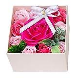 ソープフラワー 枯れない花 シャボンフラワー プレゼント ギフト FPP-820 (ピンク)