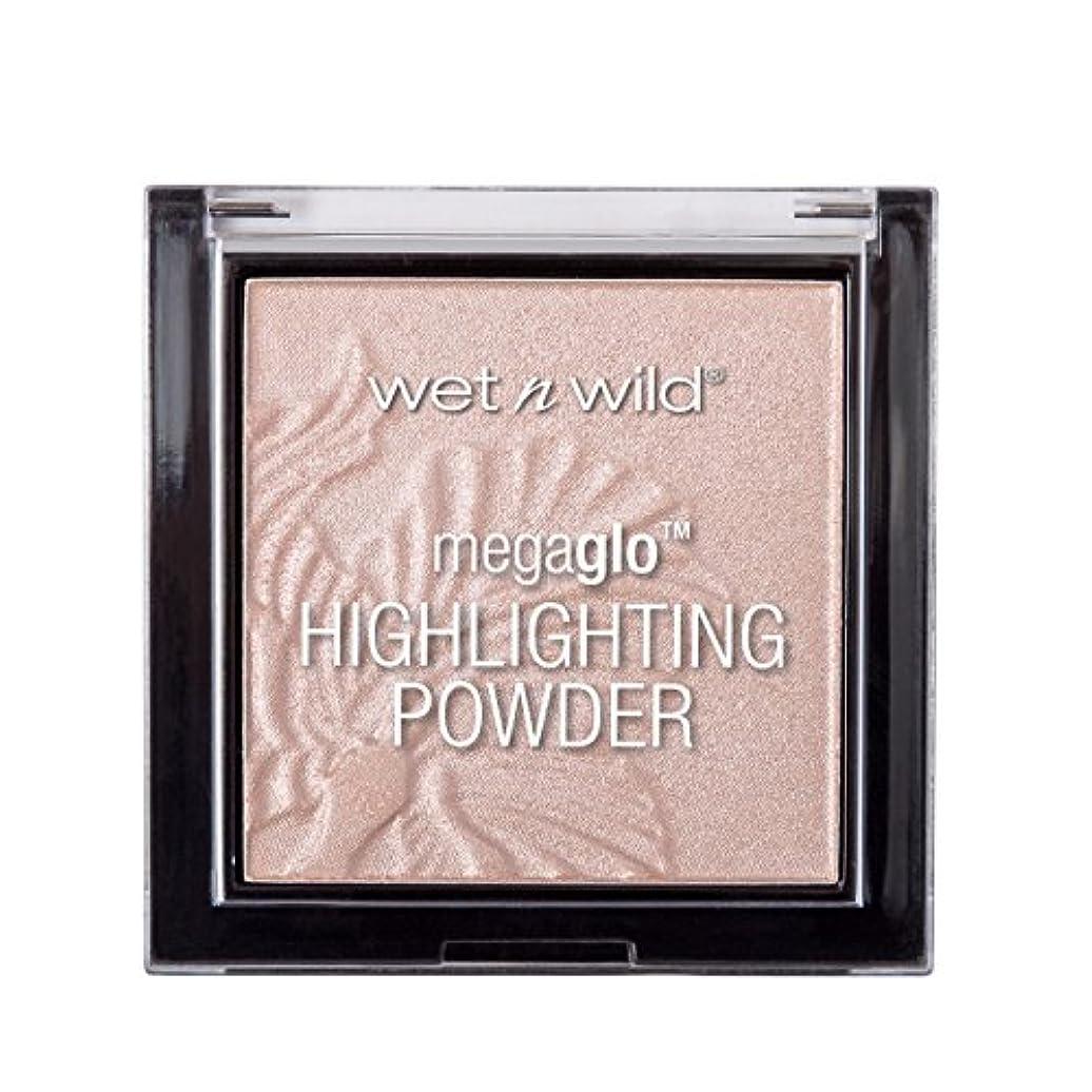 調整可能癌マークWET N WILD MegaGlo Highlighting Powder - Blossom Glow (並行輸入品)