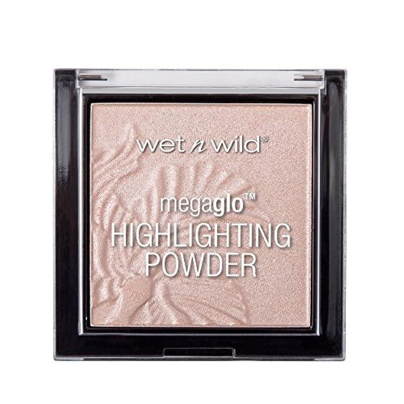 式時刻表人に関する限りWET N WILD MegaGlo Highlighting Powder - Blossom Glow (並行輸入品)