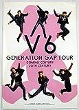 V6 コンサート GENERATION GAP TOUR パンフレット