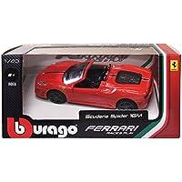 ブラーゴ 1/43 フェラーリ スクーデリア スパイダー 16M レッド 完成品