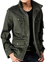 (アローナ)ARONA 綿サテン M65 ミリタリージャケット メンズ