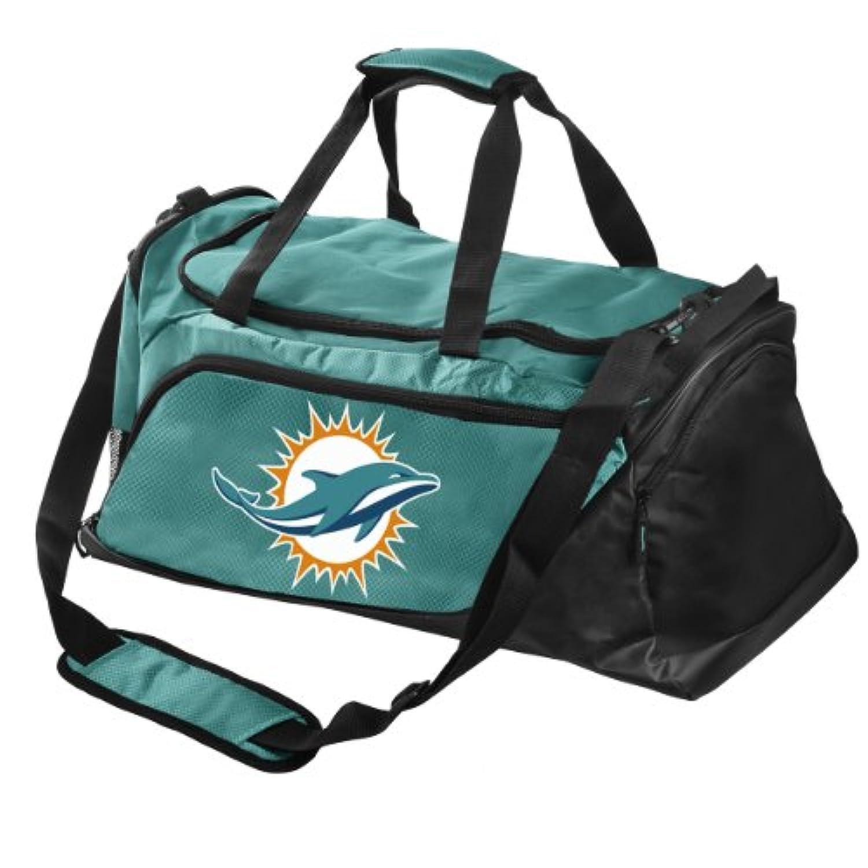 NFL Miami Dolphins Locker RoomコレクションMedium Duffleバッグ